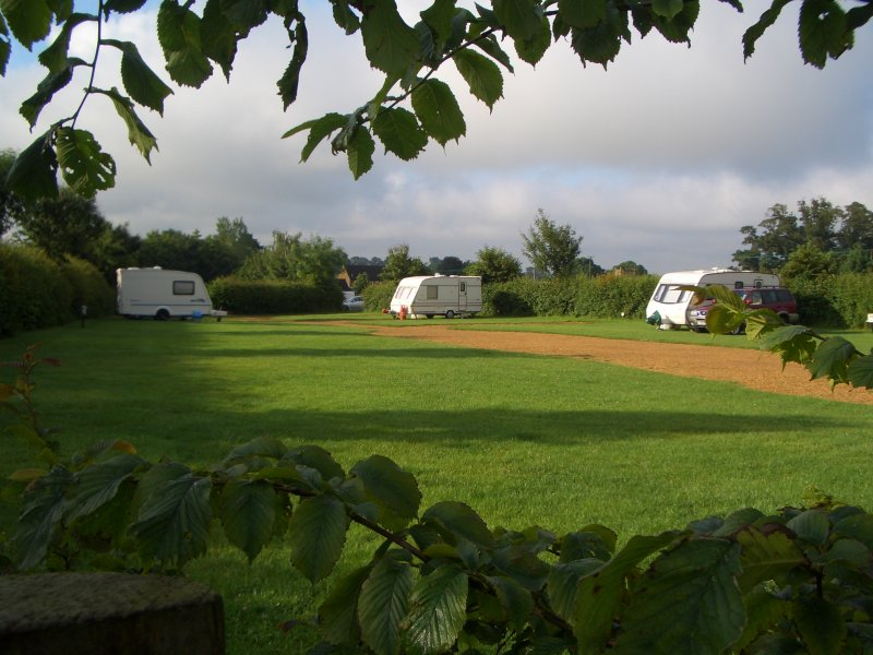 Caravan site in Oxfordshire